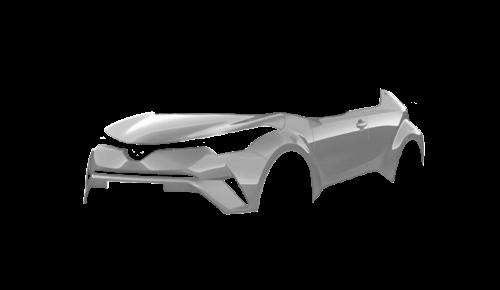 Цвета кузова C-HR